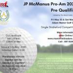 Golf Classic JP McManus ProAm 2020